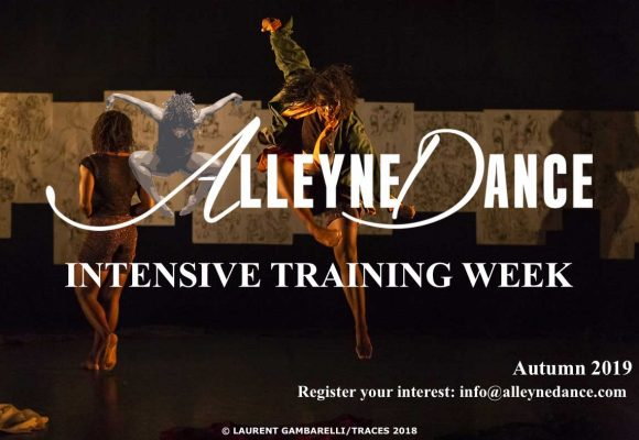 Alleyne Dance Intensive Training Programme 2019